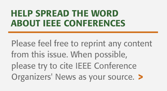Spread the word about IEEE Conferences