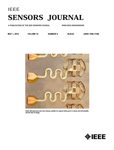 Image of Jan 2016 IEEE Sensors Journal
