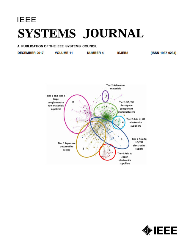 Image of Dec 2017 IEEE Systems Journal