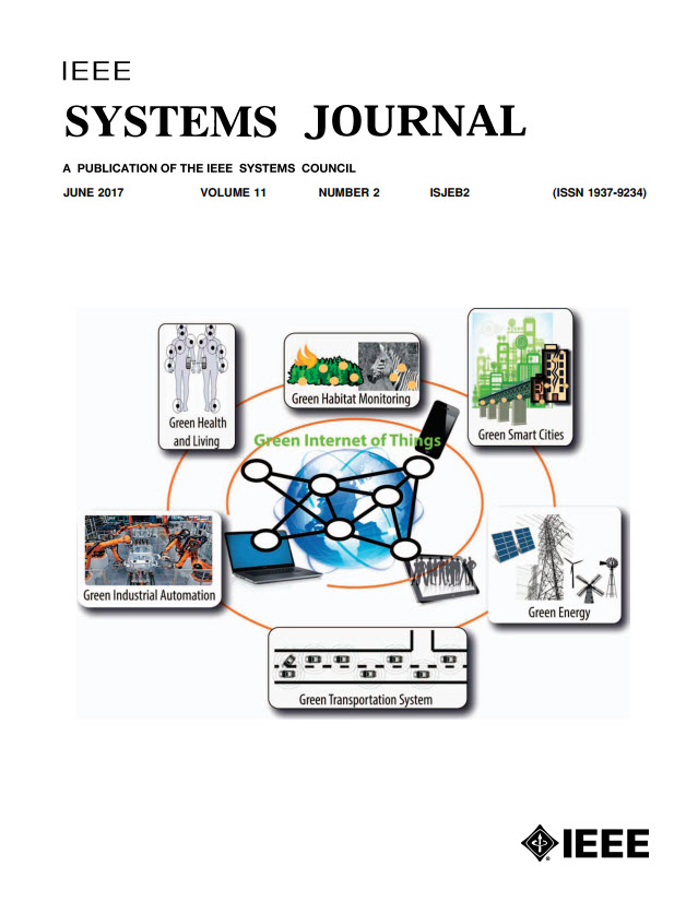 Image of Jun 2017 IEEE Systems Journal
